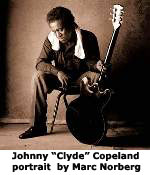 "Marc Norberg portrait of Johnny ""Clyde"" Copeland"