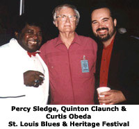 Percy Sledge, Quinton Claunch and Curtis Obeda