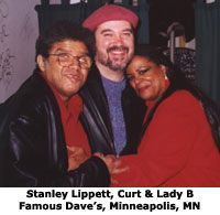 Stanley Lippett, Curtis Obeda and Lady Bianca